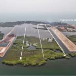 38 Acres on Placencia Lagoon. 2 Parcels Total