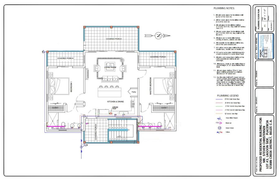 """Lagoon House """"New Construction"""" – Placencia Belize Real Estate"""